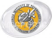 Georgia Tech Yellow Jackets Paperweight Set Mascot Logo