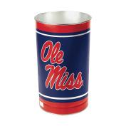 NCAA Mississippi Rebels Wastebasket