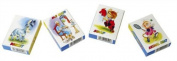 pw Childrens Card Games Donkey,Old Maid, Snap, Animal Snap