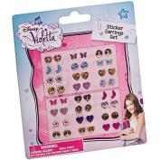 """Joy Toy """"Violetta"""" Stickers Earrings Set"""