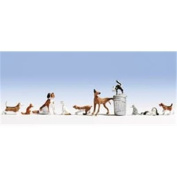 Noch 45715 Dogs and Cats Landscape Modelling