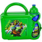 Teenage Mutant Ninja Turtles F108307 Hard Case Lunch Box with Bottle