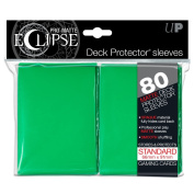 PRO-Matte Eclipse Green Standard Deck Protector sleeves