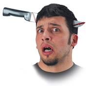 Carnival Toys 06406 - Headband Knife in the Head