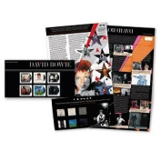 David Bowie Stamps Presentation Pack Pre Issue Date 14 March