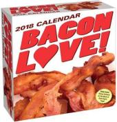 Bacon Love! 2018 Day-To-Day Calendar