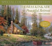 Thomas Kinkade Special Collector's Edition 2018 Deluxe Wall Calendar