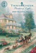 Thomas Kinkade Painter of Light 2018 Monthly Pocket Planner Calendar