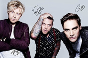 BUSTED SIGNED PHOTO PRINT - SUPERB QUALITY - 30cm X 20cm