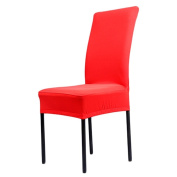 Sanwood Spandex Stretch Dining Room Chair Slipcover Protector