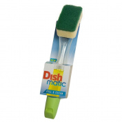 2 x Dishmatic Washing Up Brushes with Heavy Duty Sponge