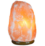 Himalayan Salt Lamp – Includes Cable and Bulb – Weight between 3 and 4 Kg