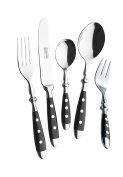 Esmeyer 30-pc Dinner Cutlery Set 'NOSTALGIE' 18/0 polished stainless steel, forged solid, handles