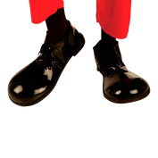 Clown Shoes Charlie Chaplin Shoes Fancy Dress Black