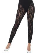 Smiffy's 44512 80s Lace Leggings