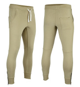 Met-X Mens New Slim Fit Tapperd In Track Suit Jogging Bottoms Training Casual Wear Skin Colour