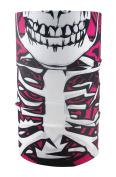 Headloop Multifunctional Scarf Pink Skull Neck Tube Scarf Bandana Headscarf Microfibre