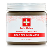 Swiss Botany 100% Natural Mineral Infused Dead Sea Mud Mask for Face & Body