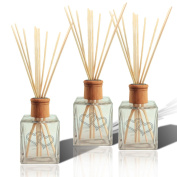 SET OF 3 - Personalised Reed Diffuser Double Heart