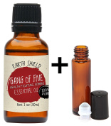 Earth Shield Gang of Five Essential Oil (comparable with Thieves and Do Terra On Guard) is 100% Pure. Premium Therapeutic Grade - 30ml