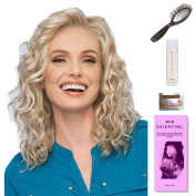 Radiant Beauty by Gabor, Wig Galaxy Hair Loss Booklet, 60ml Travel Size Wig Shampoo, Wig Cap, & Loop Brush (Bundle - 5 Items), Colour Chosen