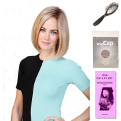 (4 Item Bundle) - (#BT-6037) Lady Latte by Belle Tress, Wig Brush, Booklet and a Free Wig Cap Liner.