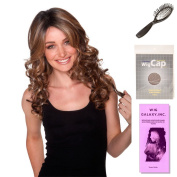 (4 Item Bundle) - (#BT-6000) French Curl by Belle Tress, Wig Brush, Booklet and a Free Wig Cap Liner.