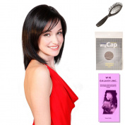 (4 Item Bundle) - (#BT-6036) Cold Brew Chic by Belle Tress, Wig Brush, Booklet and a Free Wig Cap Liner.