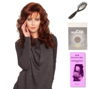 (4 Item Bundle) - (#BT-6022) Baywatch by Belle Tress, Wig Brush, Booklet and a Free Wig Cap Liner.