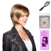 (4 Item Bundle) - (#BT-6018) Bailey by Belle Tress, Wig Brush, Booklet and a Free Wig Cap Liner.