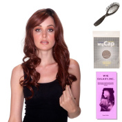 (4 Item Bundle) - (#BT-6003) Pure Honey by Belle Tress, Wig Brush, Booklet and a Free Wig Cap Liner.