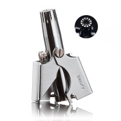 Made in Korea premium Nose hair trimmer for men & women, Manual nose and ear hair removal clippers