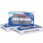 1000x Dorco ST300 Double Edge Razor Blades/ Stainless Steel by Original Dorco