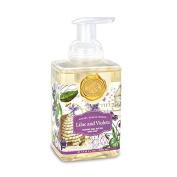 Michel Design Works Lilac & Violets Foaming Shea Butter Hand Soap 530ml
