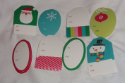 40 Inspirations from Hallmark peel 'n' stick Assorted Christmas Gift Tags Santa on Top