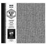 Black Out Large 20cm First Edition FSC Scrapbook Memory Photo Album