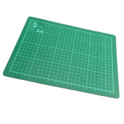 A4 WellDesigned Cutting Mat Card Paper Cutting Trimming Mat Matt Board NonSlip Surface Marking Guides For Accurate Cutting 220 X 300 Mm 3 Mm Thick