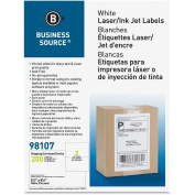 Business Source Premium White Mailing Labels - Internet Shipping 98107