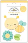 Doodlebug Designs Froggy Doodle-Pops Dimensional Stickers