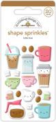 Doodlebug Designs Cake Shoppe Sprinkles Shapes Embellishments