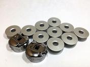2 BOBBIN CASE & 10 aluminium BOBBIN FOR INDUSTRIAL SEWING MACHINE