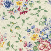 Longaberger Small Bin Basket Spring Floral Fabric Liner Over Edge New In Bag