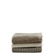 Waterworks Varena Washcloth in Ivory