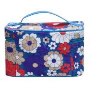 Matoen (TM) Portable Makeup Cosmetic Square Sunflower Cosmetic Bag