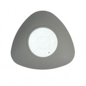 BeU 22567 Bluetooth Wireless Shower Speaker Grey, Small