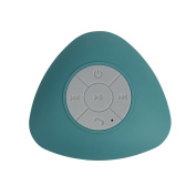 BeU 22566 Bluetooth Wireless Shower Speaker Turquoise, Small