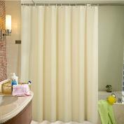 Adwaita PEVA Ivory Shower Curtain Liner Mildew Free