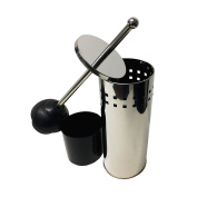 Stainless Steel Toilet Plunger with Holder, TP025948