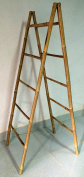 1.5m Folding Double Bamboo Ladder Rack