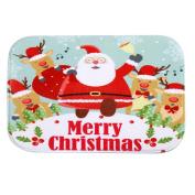 Door Mats,Siniao Holiday Welcome Mat Outdoor Indoor Festive Christmas Decor Doormat
